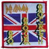 Def Leppard - 'Rocket' Woven Patch